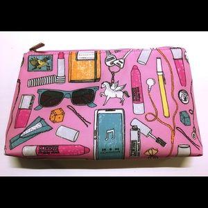 NWOT Cute Pink Clinique Makeup Bag